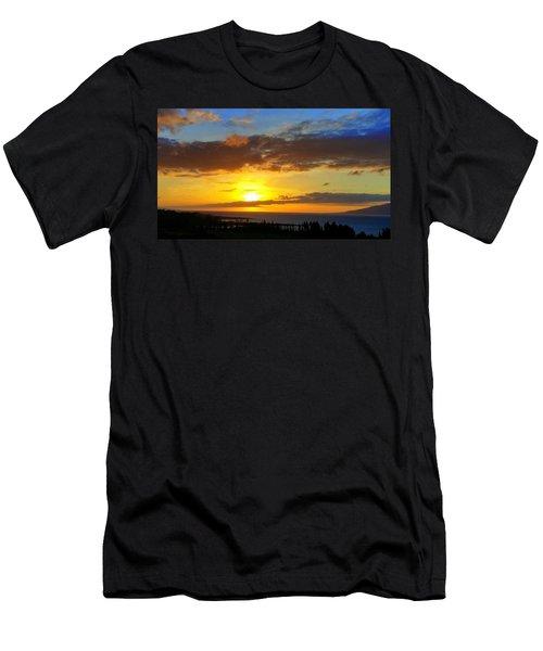 Maui Sunset At The Plantation House Men's T-Shirt (Athletic Fit)