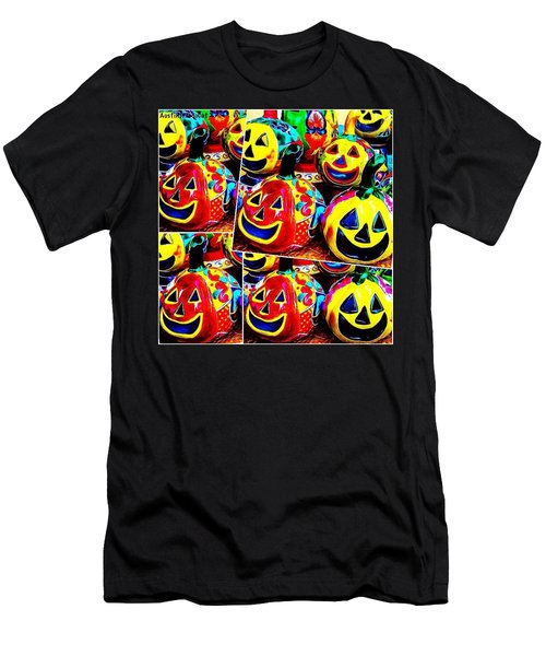 May Your #halloween Be Extra #colorful Men's T-Shirt (Athletic Fit)