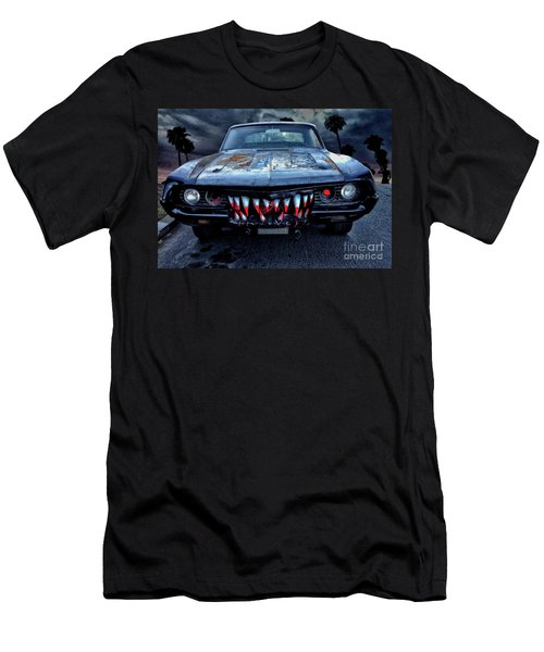 Mean Streets Of Belmont Heights Men's T-Shirt (Athletic Fit)