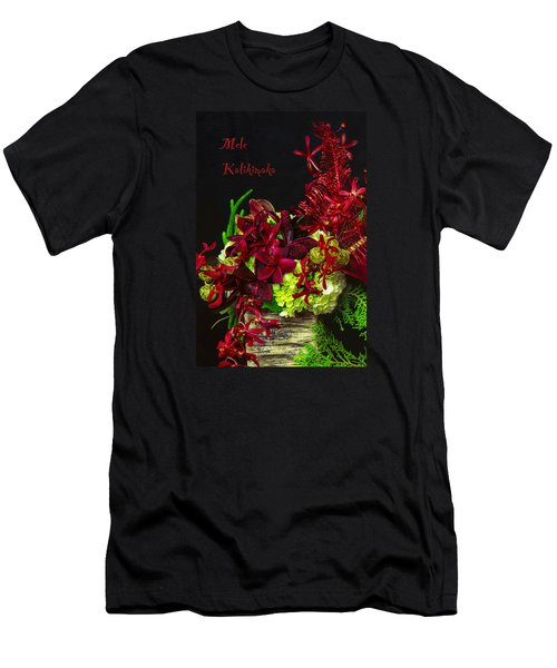 Mele Kalikimaka Men's T-Shirt (Athletic Fit)