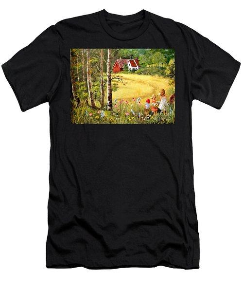 Memories For Mom Men's T-Shirt (Athletic Fit)