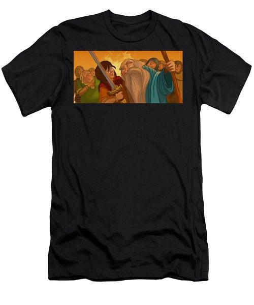 Merlin's Scrutiny Men's T-Shirt (Athletic Fit)