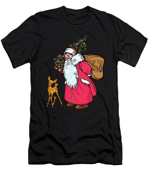 Merry Christmas. Men's T-Shirt (Athletic Fit)