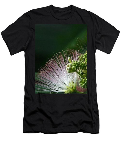 Men's T-Shirt (Slim Fit) featuring the photograph Mimosa Whiskers by John Glass