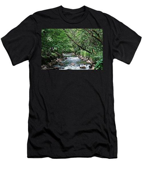 Minnehaha Creek Men's T-Shirt (Athletic Fit)