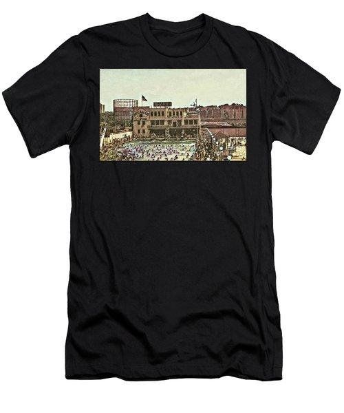 Miramar Saltwater Pool  Men's T-Shirt (Athletic Fit)