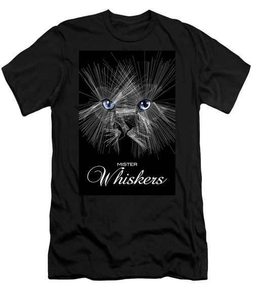 Mister Whiskers Men's T-Shirt (Athletic Fit)
