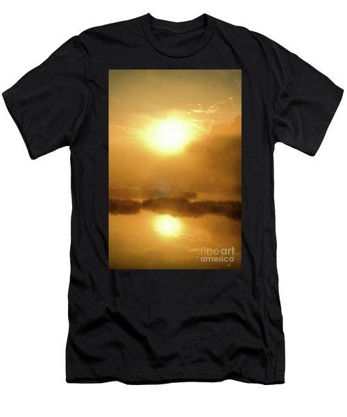 Misty Gold Men's T-Shirt (Athletic Fit)