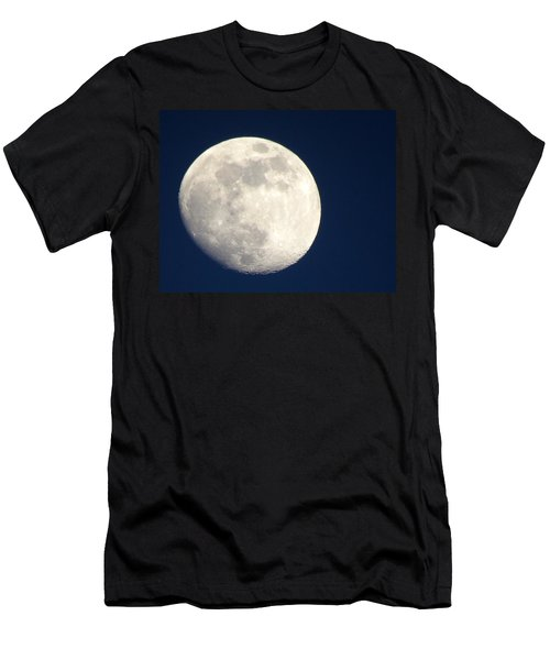 Moon In Blue Men's T-Shirt (Athletic Fit)