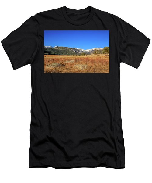 Moraine Park In Rocky Mountain National Park Men's T-Shirt (Athletic Fit)