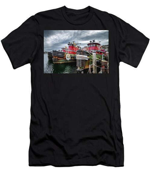 Moran Towing Tugboats Men's T-Shirt (Athletic Fit)