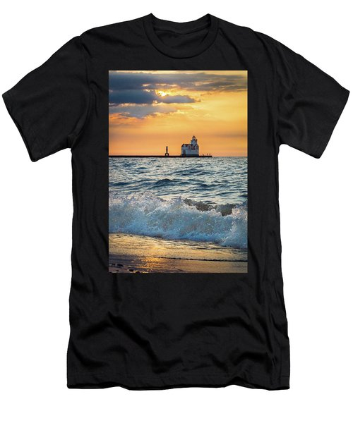 Morning Dance On The Beach Men's T-Shirt (Athletic Fit)