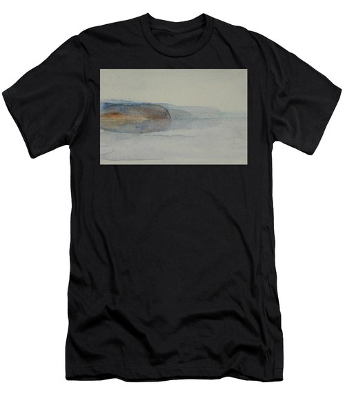 Morning Haze In The Swedish Archipelago On The Westcoast. Up To 36 X 23 Cm Men's T-Shirt (Athletic Fit)