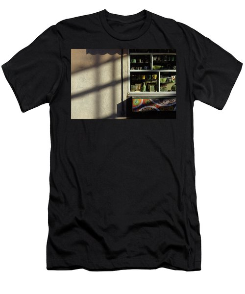 Men's T-Shirt (Athletic Fit) featuring the photograph Morning Shadows by Monte Stevens