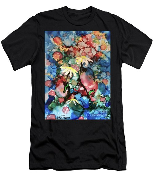 Men's T-Shirt (Athletic Fit) featuring the painting Mothers Day by Denise Tomasura