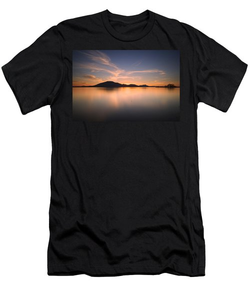 Mountain Sunset II Men's T-Shirt (Athletic Fit)