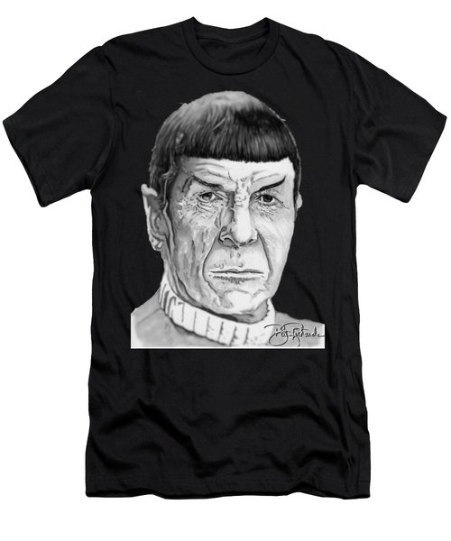 Mr Spock Men's T-Shirt (Athletic Fit)
