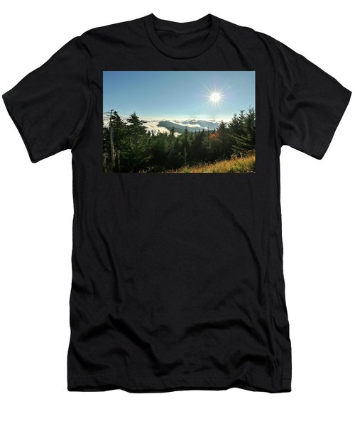 Mt Mitchell Landscape Men's T-Shirt (Athletic Fit)