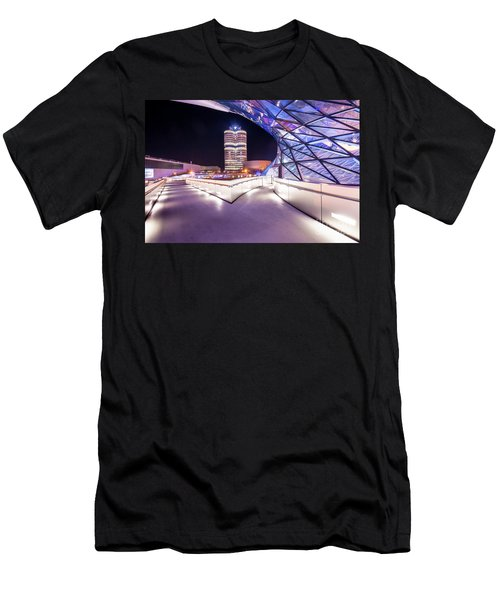 Munich - Bmw Modern And Futuristic Men's T-Shirt (Athletic Fit)
