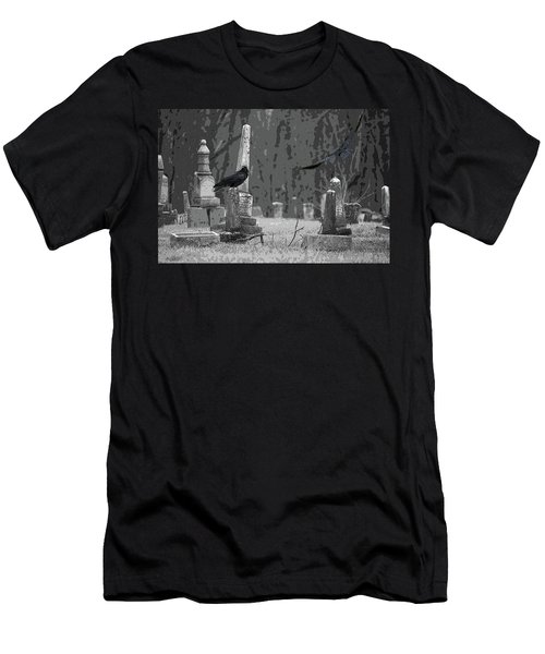 Men's T-Shirt (Slim Fit) featuring the photograph Murder Of Crows by Rowana Ray