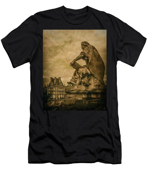Paris, France - Muse Men's T-Shirt (Athletic Fit)