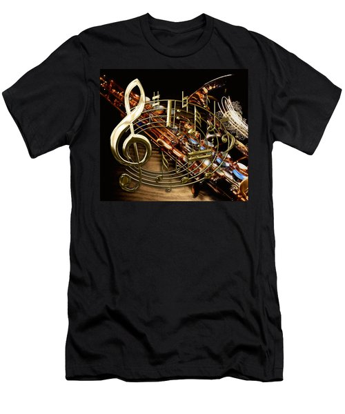 Musical Collection Men's T-Shirt (Athletic Fit)