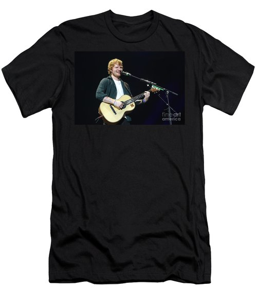 Musician Ed Sheeran Men's T-Shirt (Athletic Fit)