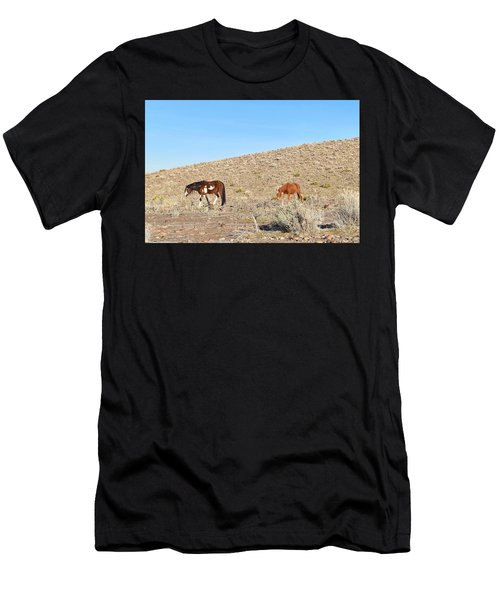 Mustangs Men's T-Shirt (Athletic Fit)