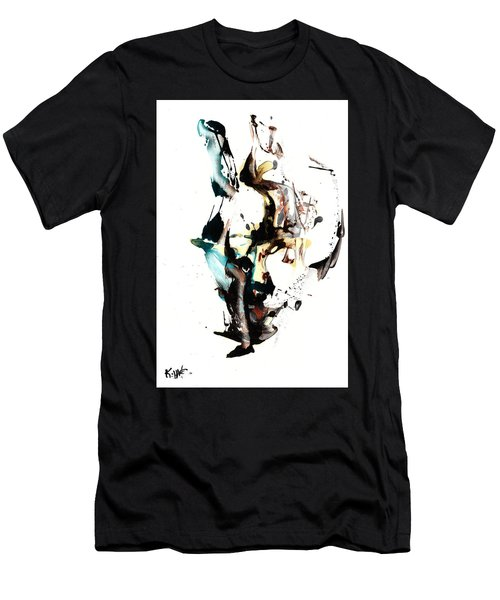 My Form Of Jazz Series 10064.102909 Men's T-Shirt (Slim Fit) by Kris Haas