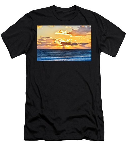 Nags Head Sunrise  Men's T-Shirt (Athletic Fit)
