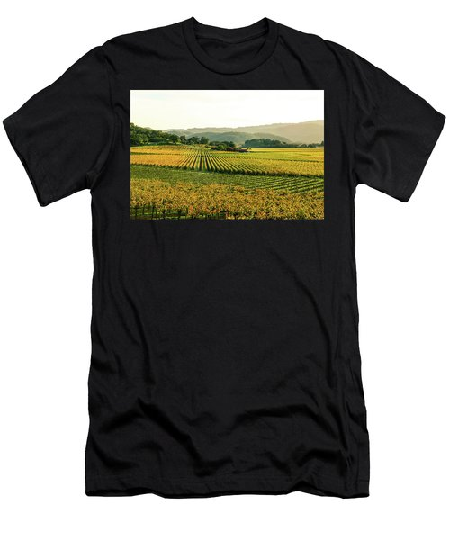 Napa Valley California In Autumn Men's T-Shirt (Athletic Fit)