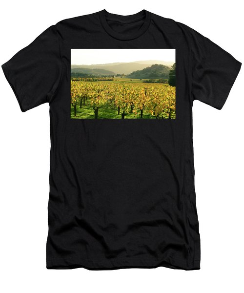Napa Valley In Autumn Men's T-Shirt (Athletic Fit)