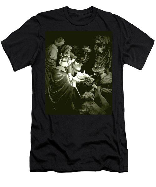 Nativity Men's T-Shirt (Slim Fit) by Elf Evans