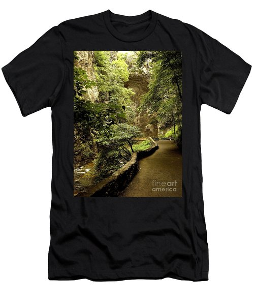 Men's T-Shirt (Slim Fit) featuring the photograph Natural Bridge  by Raymond Earley