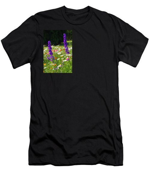 Ncdot Planting Men's T-Shirt (Slim Fit) by Kathryn Meyer