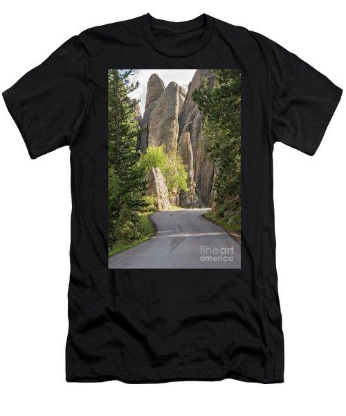 Needles Highway Men's T-Shirt (Athletic Fit)