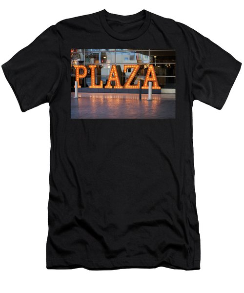 Neon Plaza Men's T-Shirt (Athletic Fit)