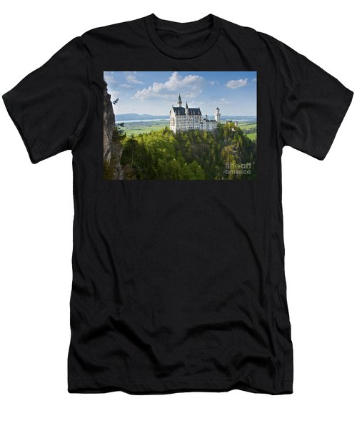 Neuschwanstein Castle Men's T-Shirt (Athletic Fit)