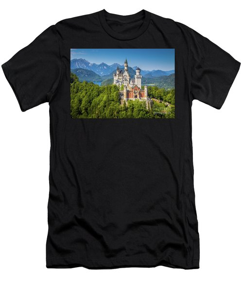 Neuschwanstein Castle Men's T-Shirt (Athletic Fit)