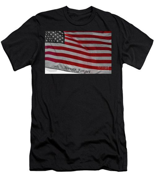 Never Forget Men's T-Shirt (Athletic Fit)