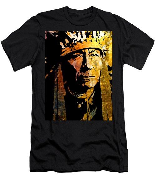 Nez Perce Chief Men's T-Shirt (Athletic Fit)