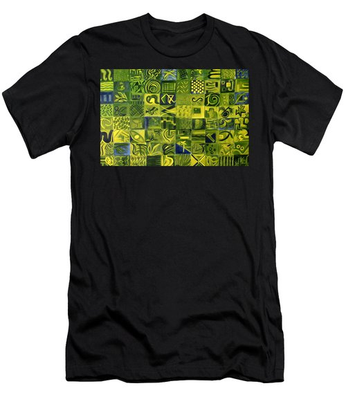 Night On The Lawn Men's T-Shirt (Athletic Fit)