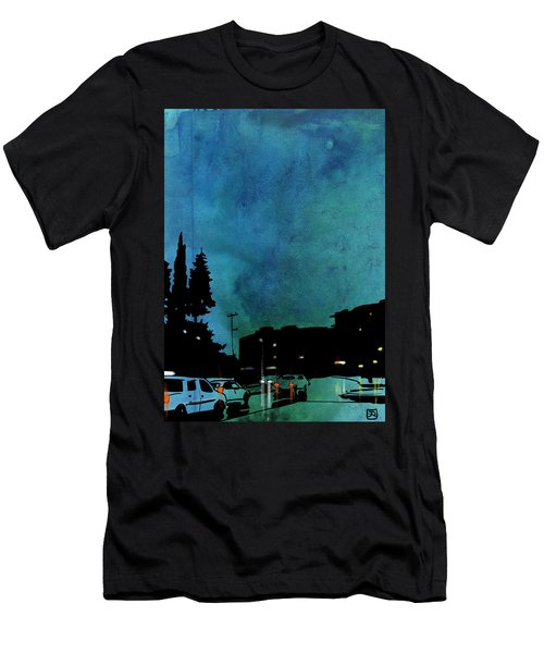 Nightscape 03 Men's T-Shirt (Athletic Fit)