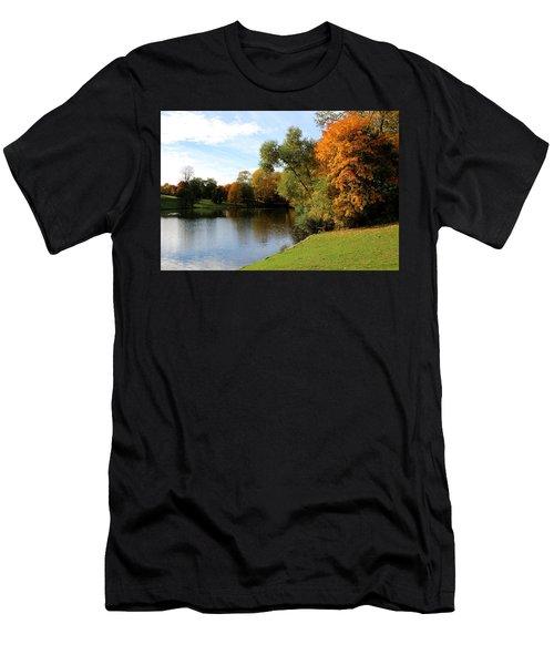 Scandinavian  Autumn  Men's T-Shirt (Athletic Fit)
