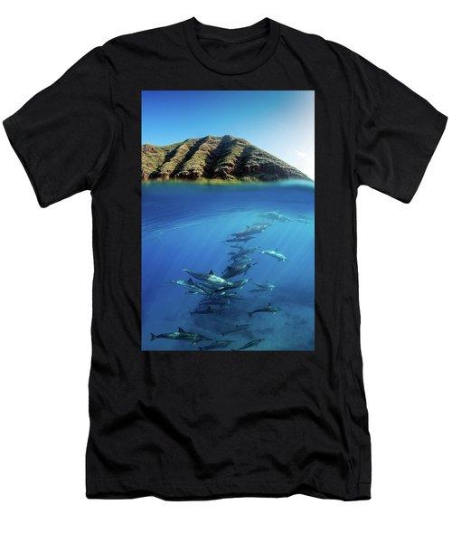 Ocean Realm Men's T-Shirt (Athletic Fit)