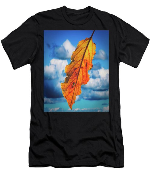 October Leaf B Fine Art Men's T-Shirt (Athletic Fit)