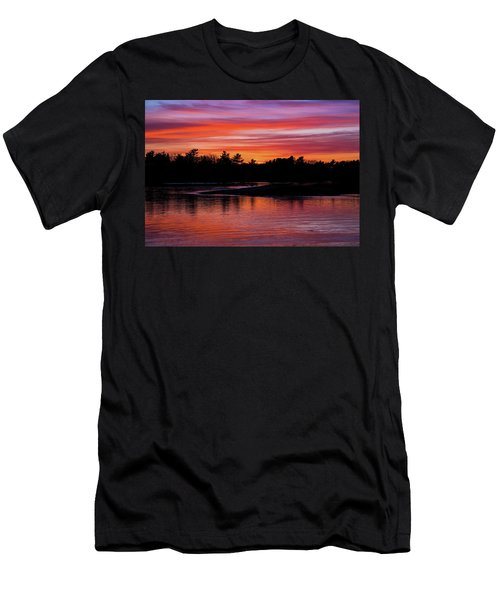 Odiorne Point Sunset Men's T-Shirt (Athletic Fit)