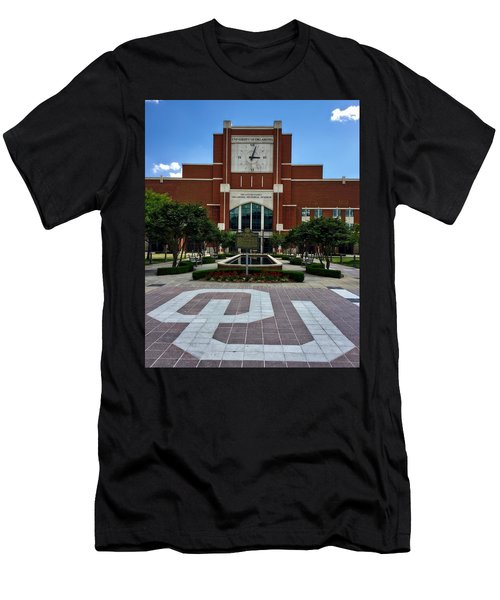 Oklahoma Memorial Stadium Men's T-Shirt (Slim Fit) by Center For Teaching Excellence