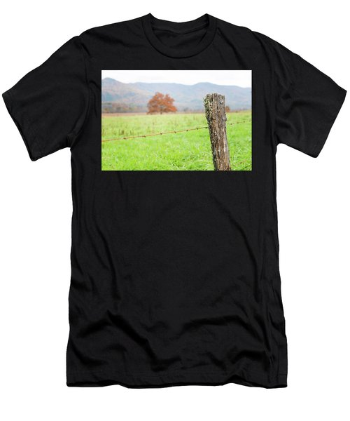 The Old Fence Post Men's T-Shirt (Athletic Fit)