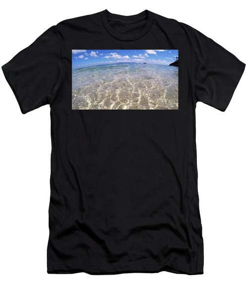 Men's T-Shirt (Athletic Fit) featuring the photograph On The Horizon by Debbie Cundy